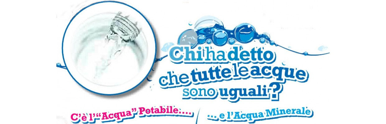 acqua potabile minerale